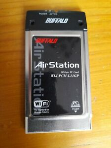 Buffalo-airstation-WLI-PCM-L11GP-11mbps-wireless-lan-card
