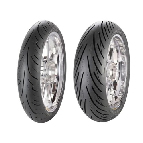Motorcycle Tyres Avon Spirit ST 120//70//ZR17 58W /& 190//50//ZR17 75W Pair Kawasaki