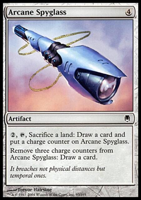 MTG Magic - (C) Darksteel - Arcane Spyglass - SP