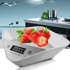 New 5KG/1G Compact Digital Kitchen Weight Scale Electronic Diet Food Device USA