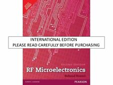 Prentice Hall Communications Engineering and Emerging Technologies Series from Ted Rappaport: RF Microelectronics by Behzad Razavi (2011, Hardcover, Revised)
