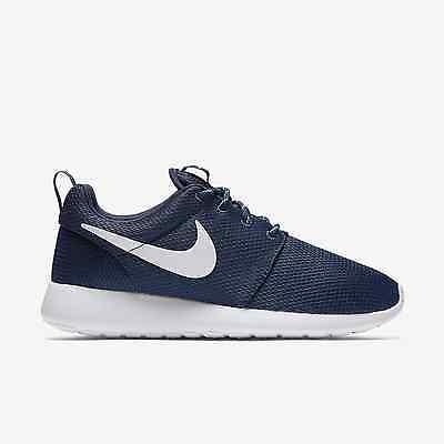 Scarpe sportive uomo donna Nike Roshe One 511882 414 blu bianco tela   eBay