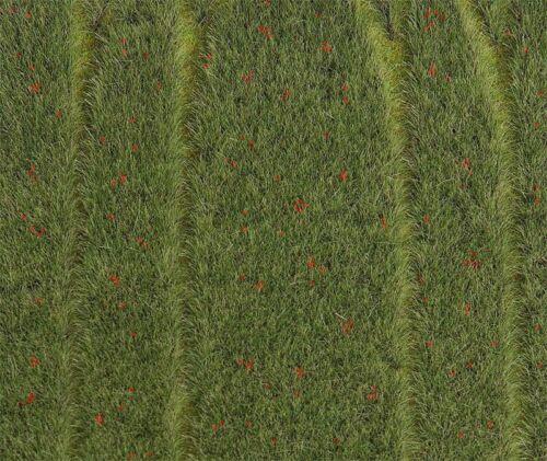 FALLER 180458 PREMIUM Landschafts-Segment Getreidefeld mit Mohnblumen
