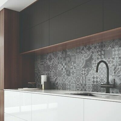 Tile Effect Laminate Kitchen Splashback Various Decors