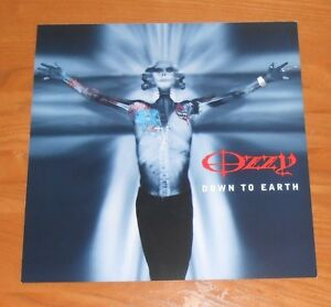 Ozzy-Osbourne-Down-to-Earth-2001-Promo-Double-Sided-Flat-Square-Poster-12x12