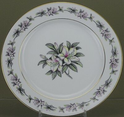 Towne Fine China, Azalea Pattern, Dinner Plate - [0514-0011]