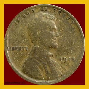 Lincoln-Wheat-Penny-1918-P-Cent-US-Coins-Coinhut2987
