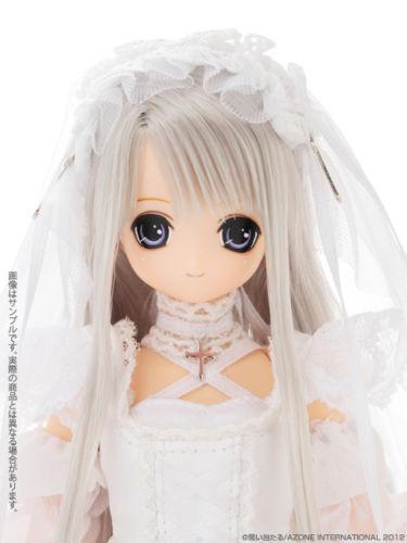 Azone EXcute silver Himeno Majokko Little Witch Starlight limited -nude Doll