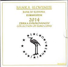 Euro SLOVENIA 2014 Folder Ufficiale 10 monete FDC