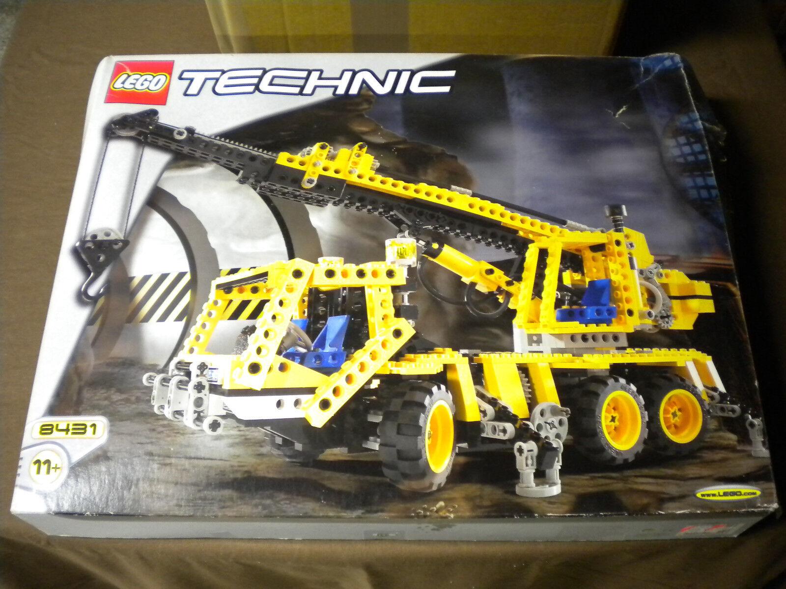 LEGO Technic Gru automobili 8431 NUOVO & OVP Rarità