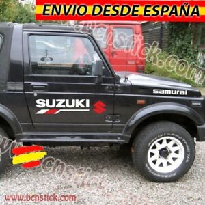 Kit-Laterales-Vinilos-Pegatinas-Decal-Stickers-Coche-4x4-Suzuki-Samurai