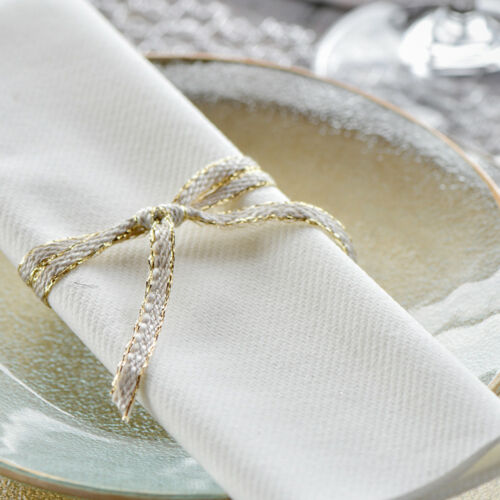 """Dekoband /""""Kordel/"""" 6 mm x 5 m weiß Schleifenband Geschenkband Hochzeit Vintage"""