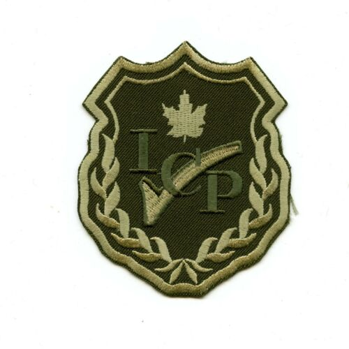 RCAF CAF Canadian ICP Instrument Check Pilot OD Crest Patch 1