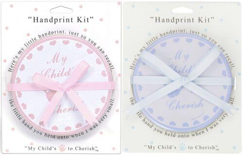 Child to Cherish Baby Handprint Pack in Blue