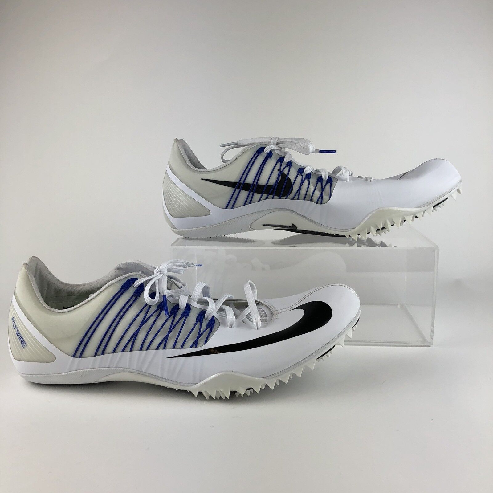 Nike Zoom Cleats Celar 5 Track Sprint Shoes spikes 629226-100 size 15 Mens white New shoes for men and women, limited time discount