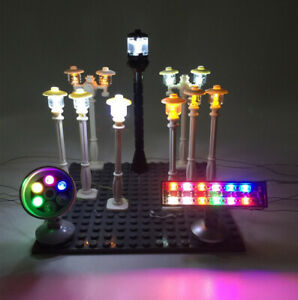 LED-Accessories-light-for-LEGO-City-Series-street-light-spotlight-traffic-light