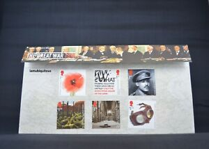 The-Great-War-Royal-Mail-Stamps-Presentation-Pack-No-561-GB-Free-postage