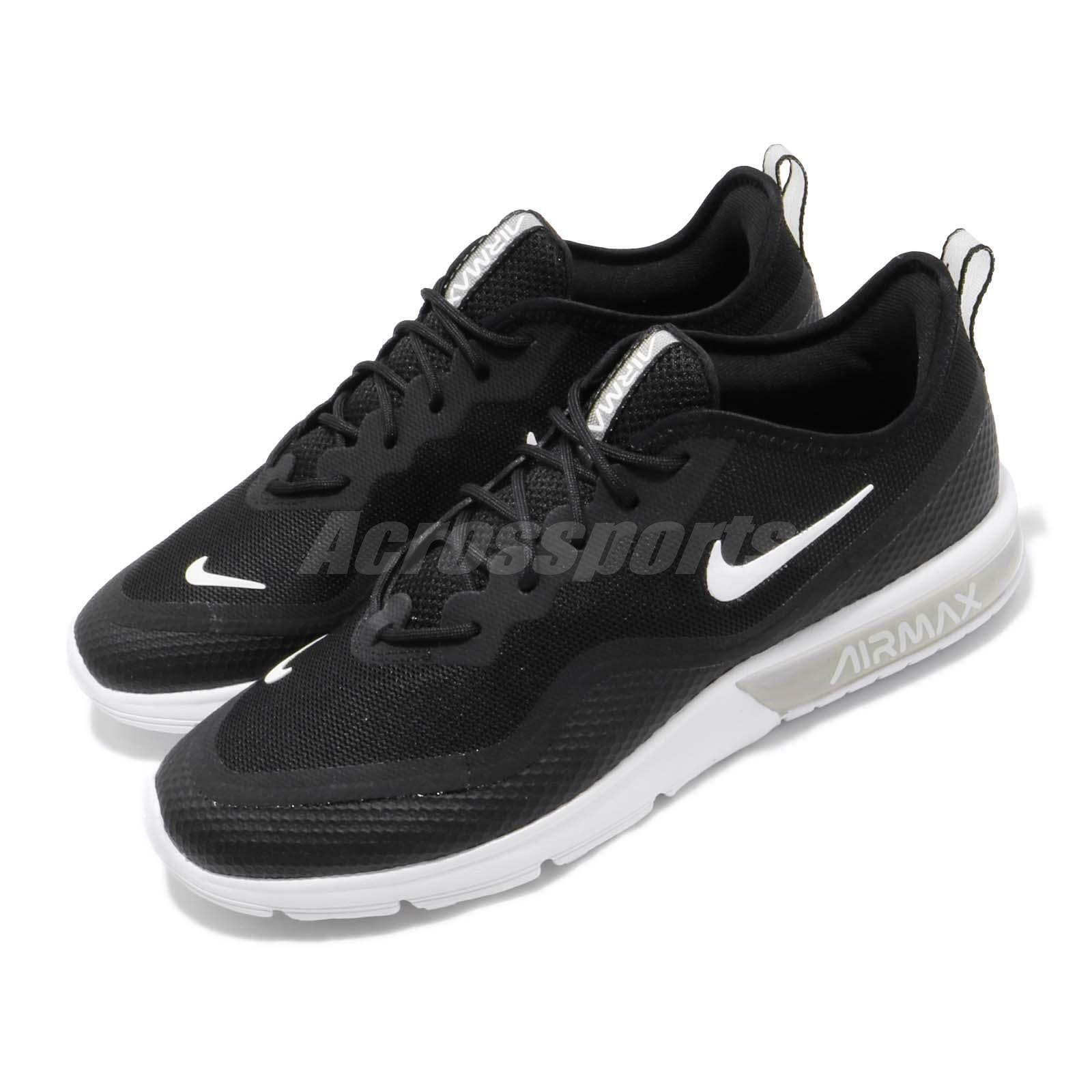 neue sadie Max Air Nike Sequent schwarz Weiß Men Running