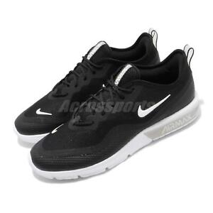 32d0b66613 Nike Air Max Sequent 4.5 Black White Men Running Shoes Sneakers ...