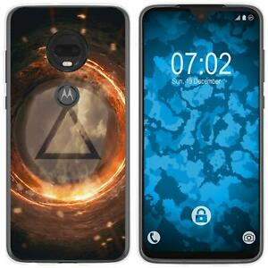 Moto-G7-Plus-Coque-en-Silicone-element-feu-M3-Case