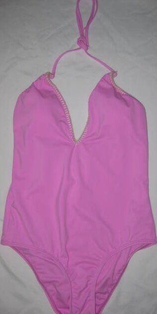 c7a115b6e2 Victoria's Secret Stitched One-piece Swim Small NEW npwppb15591 ...
