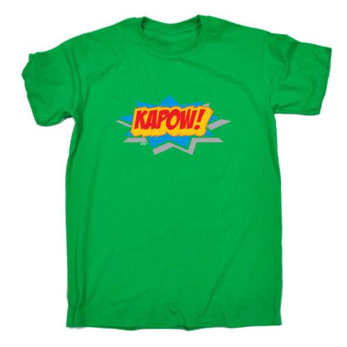 Funny Novelty T-Shirt Mens tee TShirt Comic Kapow
