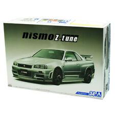Nissan Skyline R34 Silber Z-Tune Nismo 1998-2002 043509 Kit Bausatz 1//24 Aoshi..