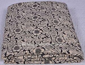 f4d0f187b 5 Yards Indian Block Printed Natural Dye Cotton Fabric Dressmaking ...