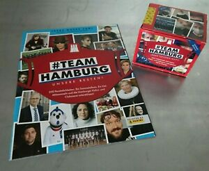 Panini #Team Hamburg Sticker – Sammelsticker 1 Display (50 Tüten) + 1 Leeralbum