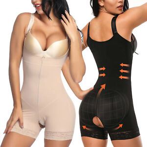 7f2b12482a8d8 Women Compression Full Body Shaper Firm Control Tummy Slim Underwear ...