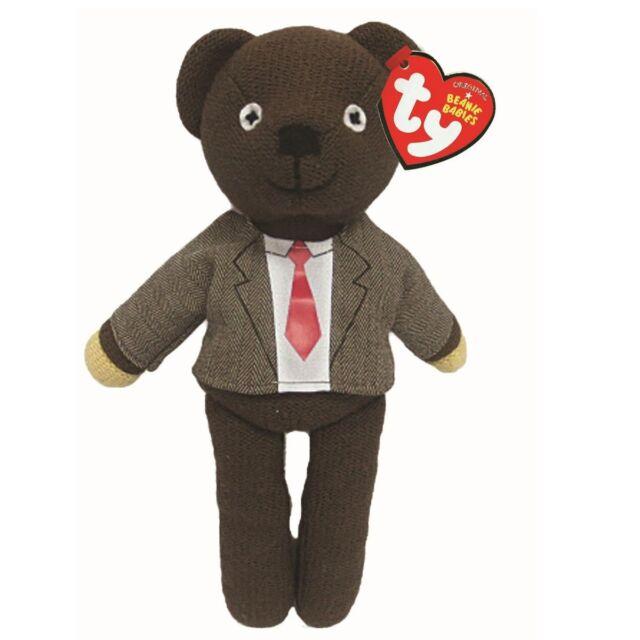 BEAN UK Exclusive I Love Bean T-Shirt Teddy Bear ~ MWMT Ty Beanie Baby ~ MR