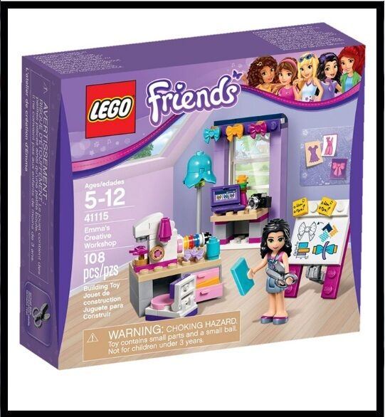 LEGO Friends 41115  Emma's Creative Workshop Mixed By Lego Korea Fast Ship. Gift