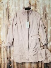 item 6 NWT COLE HAAN SIGNATURE Back Bow Packable Hooded Raincoat (Regular    Petite) S P -NWT COLE HAAN SIGNATURE Back Bow Packable Hooded Raincoat ( Regular ... bb7939942