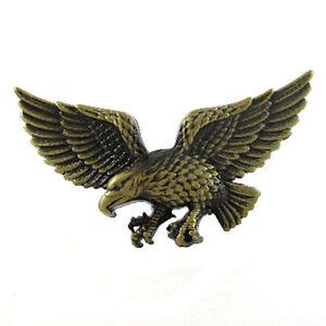 BRASS BRONZE EFFECT EAGLE BELT BUCKLE BIRD AMERICA F YEAH FIT SNAP ... 52754759df1