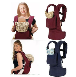 Infant Baby Carrier Adjustable Sling Wrap Multifunction Kids Backpack Pouch Ring