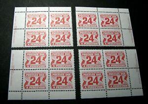 Canada-Stamp-Scott-J39-Postage-Due-1969-78-Marched-Blocks-MNH-H91