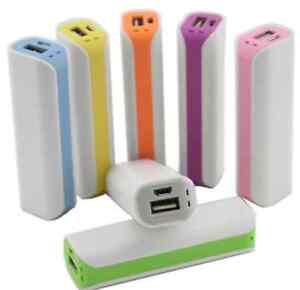 USB-Portable-Backup-Battery-2600mAh-External-Charger-Power-Bank-for-phone-CHI