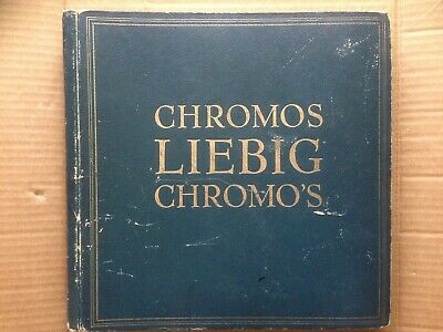 Album Chromos Liebig Bleu Complet 300 Chromos Zowel De Kwaliteit Van Vasthoudendheid Als Hardheid Hebben