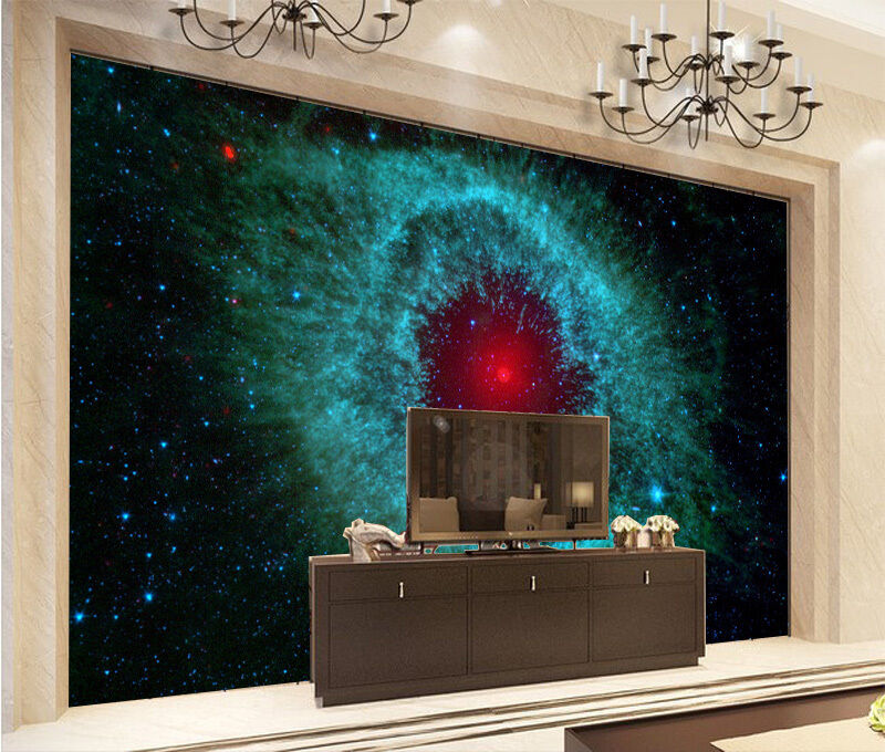 3D Stars Sky Eye 9017 Wall Paper Wall Print Decal Wall Deco Wall Indoor Murals