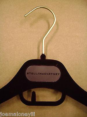 """STELLA MCCARTNEY DESIGNER MAROON VELVET FELT SHIRT HANGERS 15 &16"""" SET 20"""