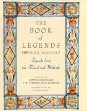 Book of Legends Sefer Ha-Aggadah : Legends from the Talmud and Midrash - Bialik