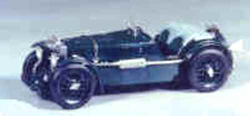 MG K3 Racing car model - white metal kit to assemble and paint 1:43 scale
