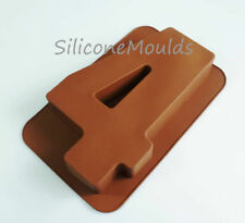 Item 6 Large Silicone Number 4 FOUR Age Cake Tin Mould Birthday Anniversary Baking Pan