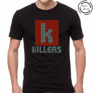 New THE KILLERS Indie Rock Band Logo Men/'s Tee Black T-Shirt Size S to 3XL