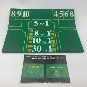 Brybelly-Blackjack-amp-Craps-Green-Casino-Gaming-Table-Felt-Layout-42-034-x-28-034