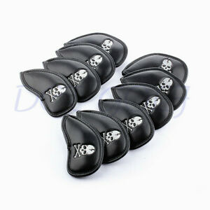 NEW-10X-Skull-Golf-Club-Headcovers-Head-Covers-Iron-Protector-For-Cleveland-PING