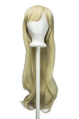 Amber Bangs Cosplay NEW Tomoyo 32'' Blond Wig Straight Long Long tqFIwU
