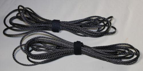Black USA Hammock Suspension Amsteel 6ft Ultralight Whoopie Slings
