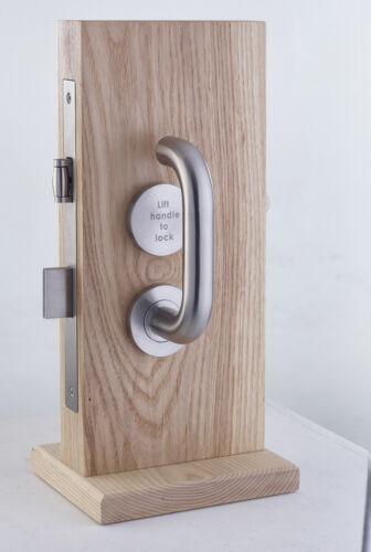 Lift to lock désactivé installation wc indicateur boulon porte poignée de meuble-sss