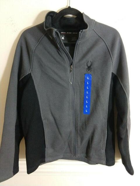 Spyder Mens Wengen Full Zip Mid Weight Stryke Jacket